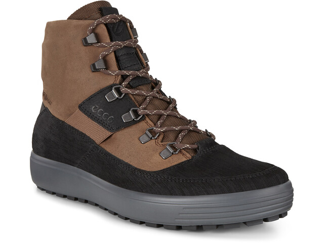 ECCO Soft 7 Tred Zapatillas Botas Hombre, black/cocao brown/black